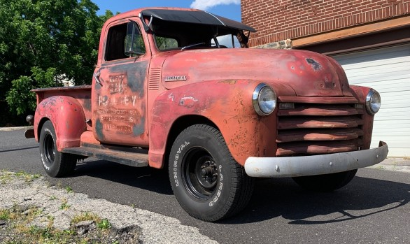 Chevrolet 3100 pick-up 1947 ( France dpt 64)