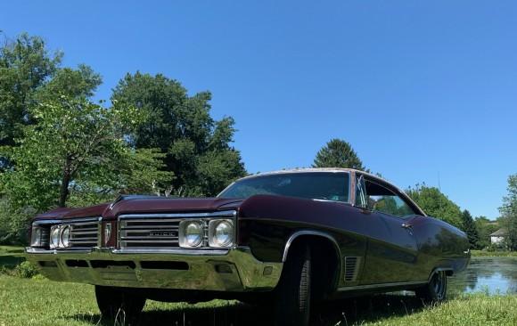 Buick Wildcat custom coupe 1968 ( Den HELder, HOLLANDE)