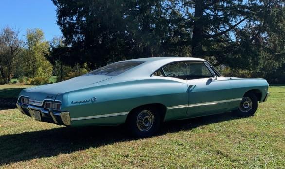 Chevrolet Impala coupe 1967 Aldingen ( Allemagne)