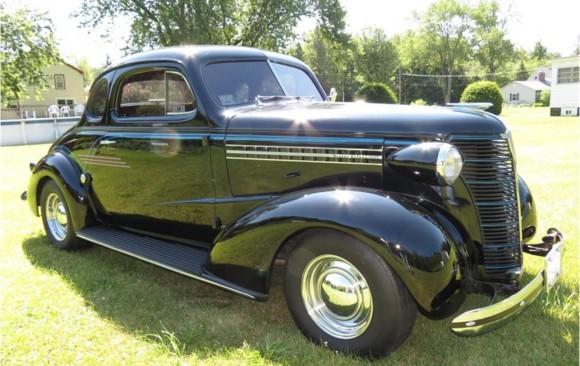 Chevrolet Master coupe 1938 ( France dpt 95)