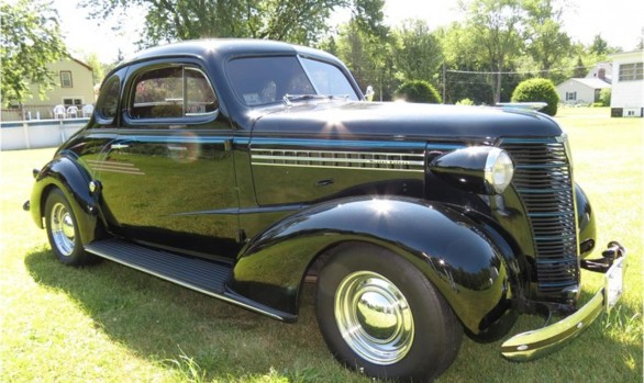 Chevrolet Master coupe 1938 ( France dpt 95)