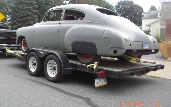 Chevrolet Fleetline 1950 ( France dpt 13)