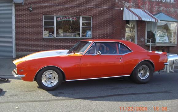 Chevrolet Camaro pro street 1967 ( France dpt 54)