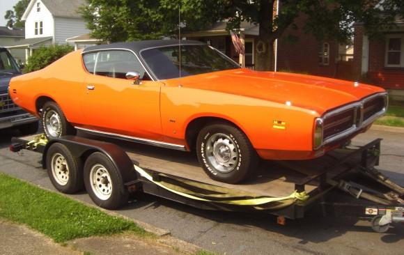 Dodge charger 1971 ( France dpt 84)