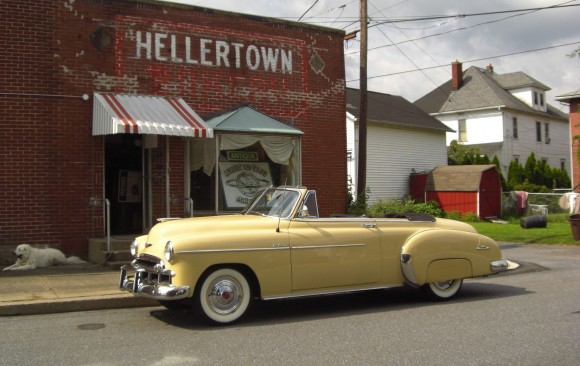 Chevrolet deluxe convertible 1949 ( France dpt 06)