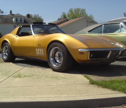 Chevrolet Corvette 1969 ( France dpt 77)