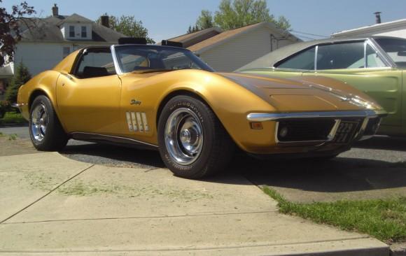Chevrolet Corvette 1969 ( France dpt 77)