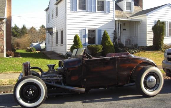 Ford A Rod 1929 ( France dpt 57)