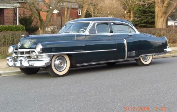 Cadillac Fleetwood 1950 ( France dpt 69)