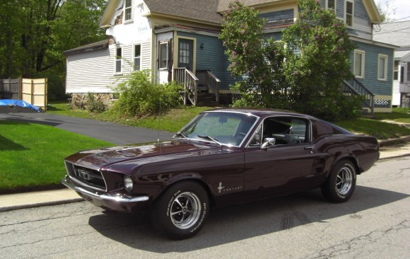 Ford Mustang Fastback 1967 ( France dpt 60)