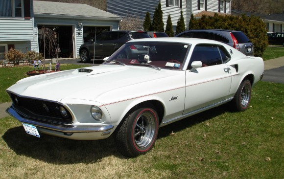 Ford Mustang fastback 1969 ( France dpt 54)