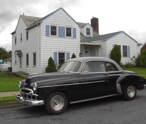 Chevrolet coupe 1949 ( Grandson, Suisse)