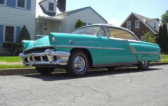 Mercury Montclair hardtop coupe 1955 ( France dpt 28)