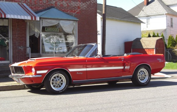 Ford Mustang convertible California 1967