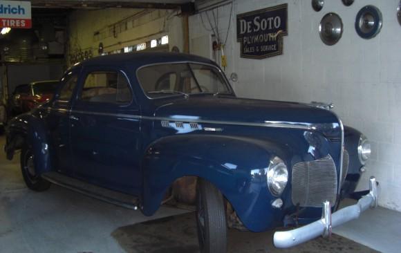 De Soto Business coupe 1940  ( France dpt 95)