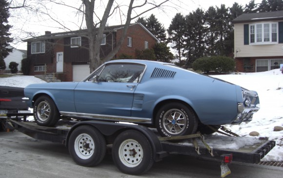 Ford Mustang Fastback 1967 ( France dpt 42)