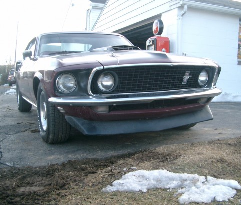 Ford Mustang Mach 1 1969  ( FRANCE DPT 40)