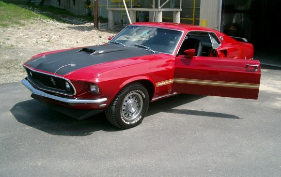 Ford Mustang Mach 1 1969 ( France dpt 51)