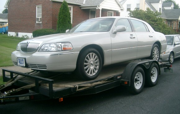 Lincoln Ultimate Town car 2004 ( France dpt 78)