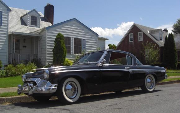 Studebaker president coupe 1955 ( France dpt 04)