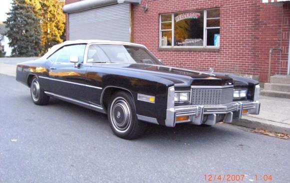 Cadillac Edlorado convertible 1976 ( France dpt 21)