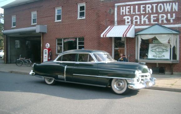 Cadillac Fleetwood 1950 ( France dpt 22)