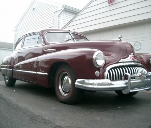 Buick super sedanette 1948 ( France dpt 58 )