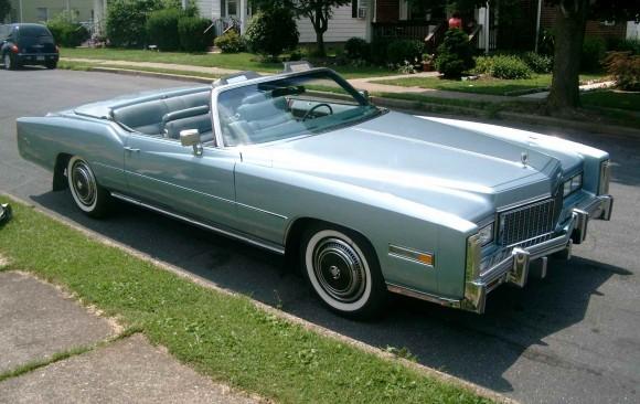 Cadillac Eldorado convertible 1976 ( France dpt 77)