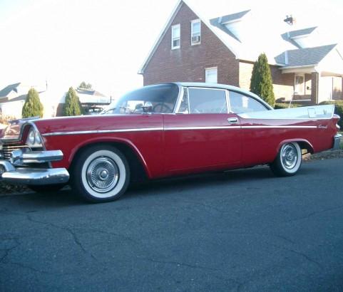 Dodge Coronet lancer coupe 1958 ( France dpt 35)