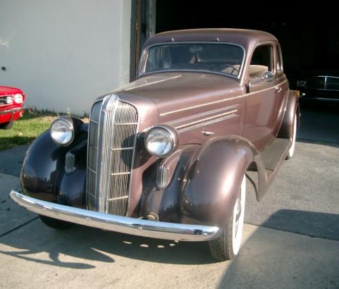 Dodge coupe 5 windows 1936 ( France dpt 74)