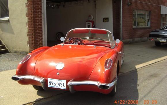 Chevrolet Corvette convertible 1959 ( France dpt 69)