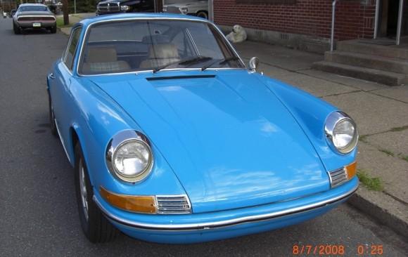 Porsche 911 1970 ( France dpt 58)