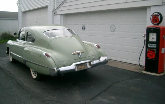 Buick super 50 sedanette 1949 ( France dpt 28 )