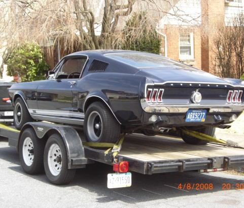 Ford Mustang Fastback GT 390 ( France dpt 45)