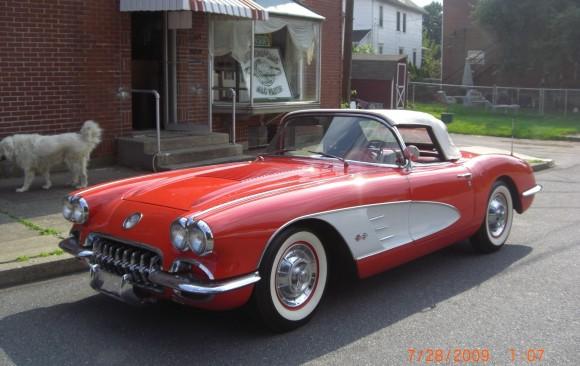 Chevrolet Corvette 1958 ( France dpt 14)