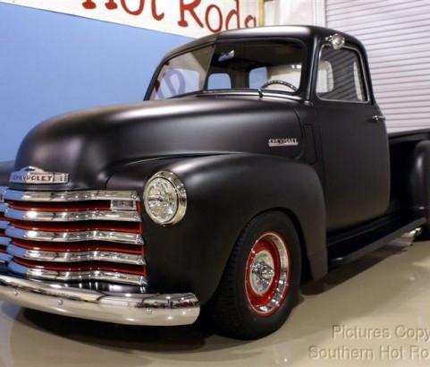 Chevrolet 3100 Pick-up Rod 1950 ( France dpt 94)