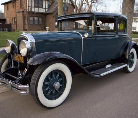 Buick Opera coupe 1929 ( France dpt 28)