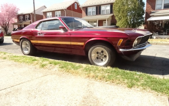 Ford Mustang Fastback 1970 ( France dpt  30)