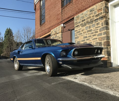 Ford Mustang Mach 1 1969 ( France dpt 60)