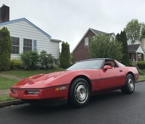 Chevrolet Corvette 1986 ( France dpt 91)