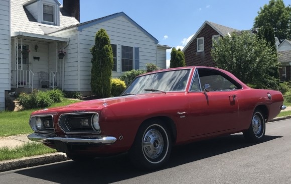 Plymouth Barracuda 1968 ( France dpt 71)