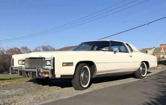 Cadillac Eldorado coupe 1976 ( France dpt 29)