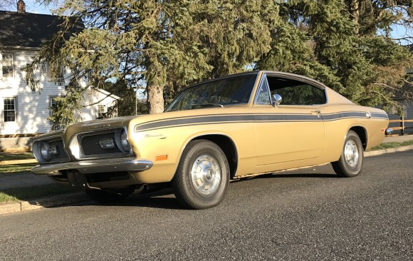 Plymouth Barracuda 1969 ( France pdt 62)
