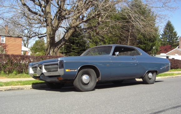 Plymouth Fury 3 coupe 1972 ( France, dpt 06)