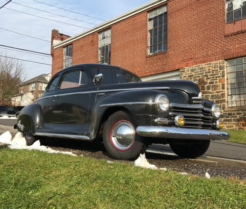 Plymouth business coupe 1946 (France dpt 47)