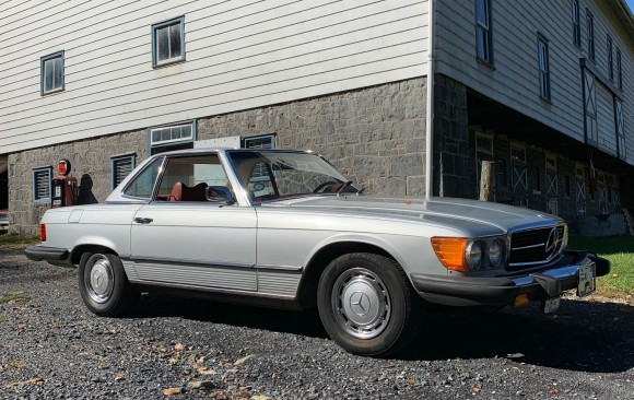 Mercedes 450SL 1975 ( France dpt 69)