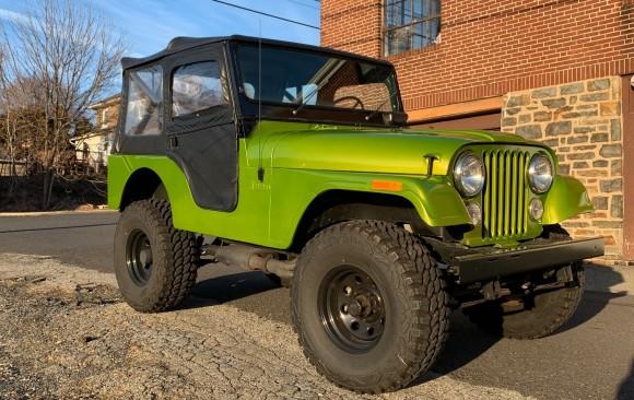 Jeep CJ5 1973 ( France DPT 13)