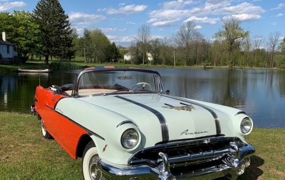 Pontiac starchief convertible 1956 ( France dpt 14)