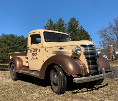 Chevrolet pick-up 1938 ( France dpt 27)